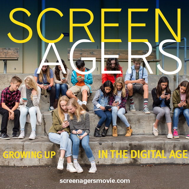 SCREENAGERS: Growing Up in the Digital Ag Poster