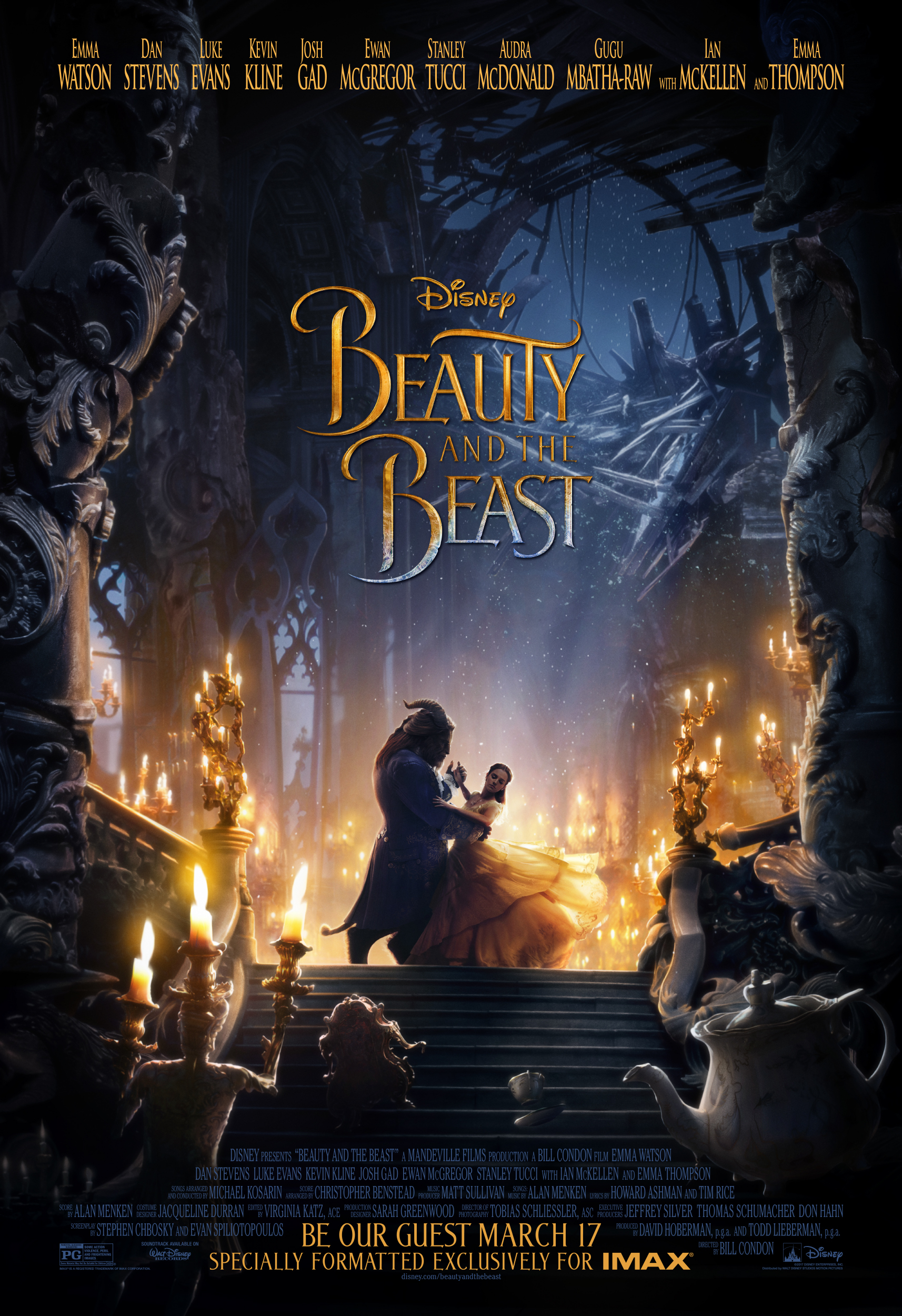 Poster for Beauty and the Beast An IMAX 3D Experience