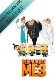 Poster of Despicable Me 3- SUMMER KIDS FEST