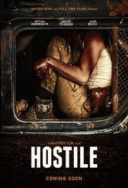 Poster for Hostile - FREAK SHOW FILM FESTIVAL