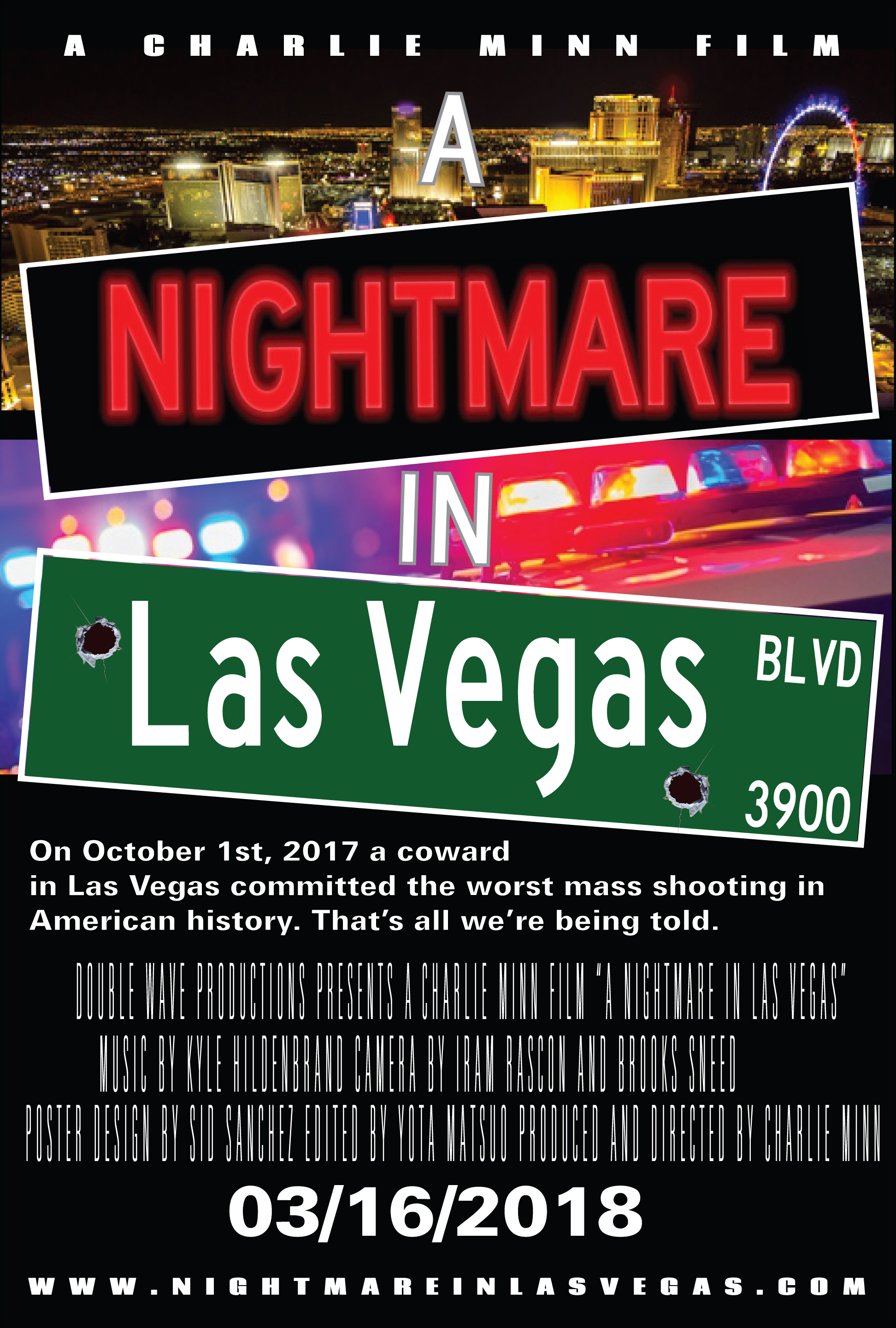 Poster for A Nightmare in Las Vegas