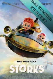 Poster of Storks- SUMMER KIDS FEST