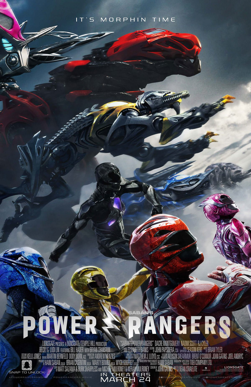 Poster for Power Rangers