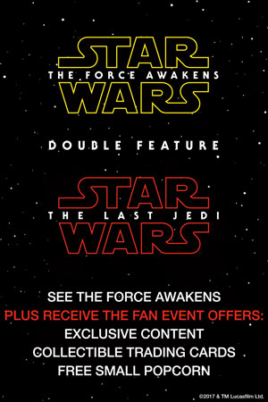Poster for Star Wars Double Feature