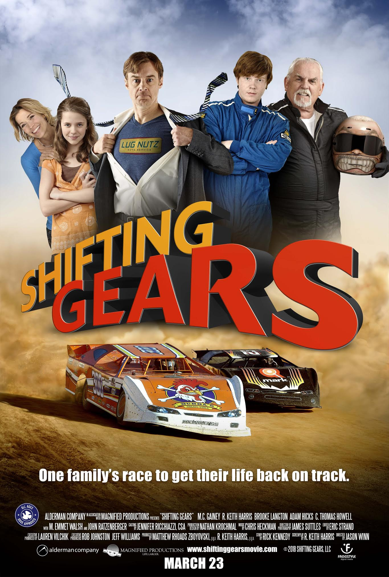 Poster of Shifting Gears