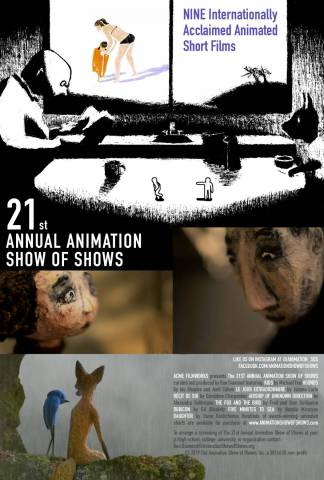 Poster of The 21st Annual Animation Show of Sho...