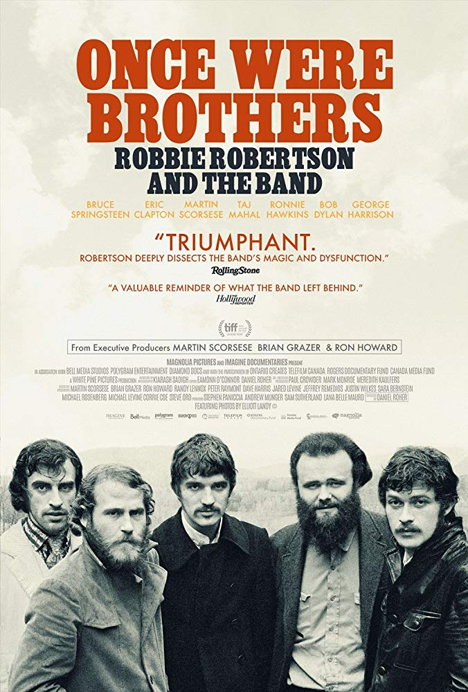 Poster of Once Were Brothers: Robbie Robertson ...