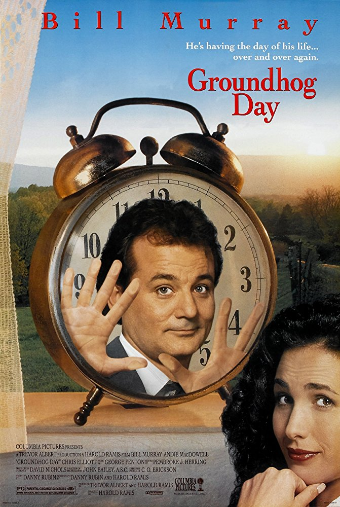Poster of Groundhog Day