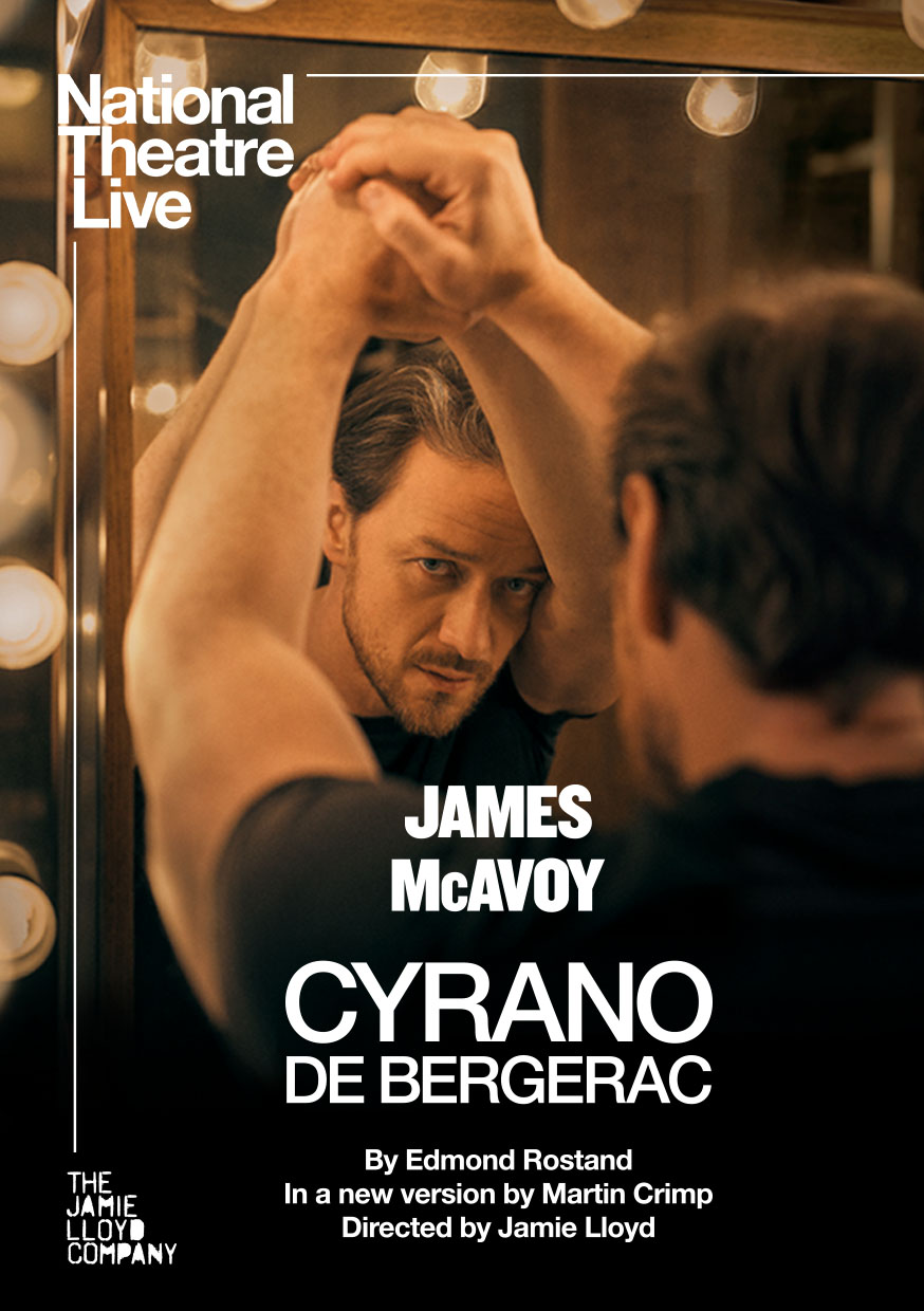 Poster of National Theater Live: Cyrano de Berg...