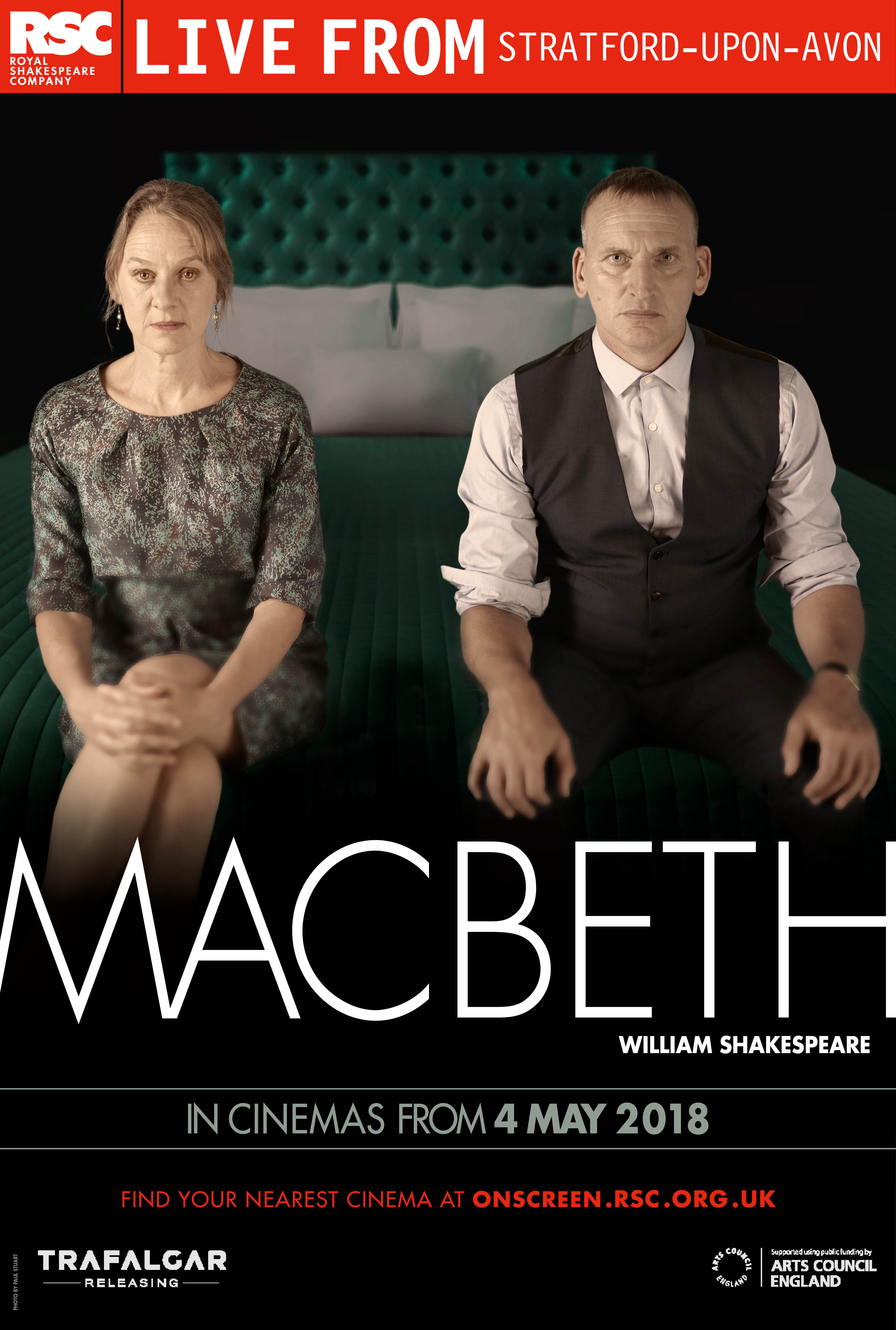 Royal Shakespeare Company: Macbeth Poster