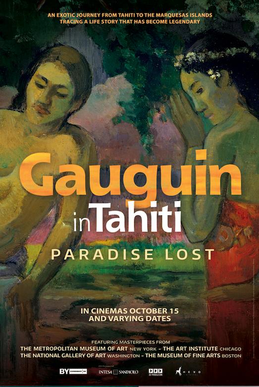 Poster of Gauguin in Tahiti - Paradise Lost (Gu...