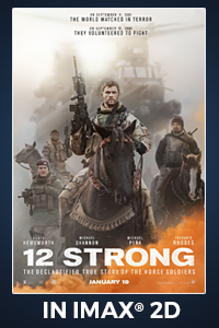 Poster of 12 Strong: The IMAX 2D Experience