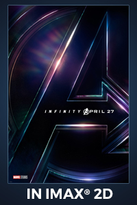 Poster of Avengers: Infinity War The IMAX 2D Experience