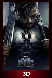 Poster of Black Panther in Disney Digital 3D