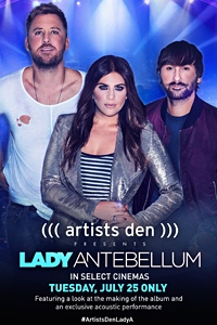 Poster of Artists Den Presents Lady Antebellum