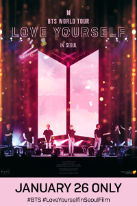 Poster of BTS World Tour Love Yourself in Seoul