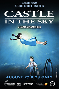 Poster of Castle in the Sky - Studio Ghibli Fest 2017
