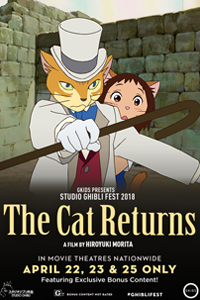 Poster of The Cat Returns - Studio Ghibli Fest 2018