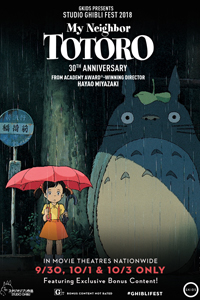 Poster of My Neighbor Totoro - Studio Ghibli Fest 2018