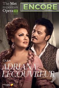 Poster of The Metropolitan Opera: Adriana Lecou...