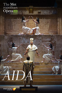 Poster of The Metropolitan Opera: Aida