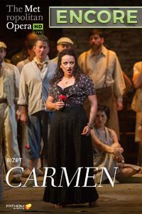 Poster of The Metropolitan Opera: Carmen Encore...