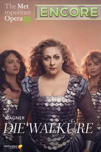 Poster of The Metropolitan Opera: Die Walküre ...