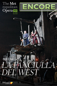 Poster of Metropolitan Opera: La Fanciulla del ...