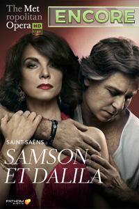 Poster of The Metropolitan Opera: Samson et Dal...