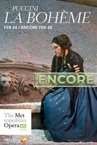 Poster of The Metropolitan Opera: La Boheme ENCORE