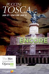 Poster of The Metropolitan Opera: Tosca ENCORE
