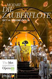 Poster of The Metropolitan Opera: Die Zauberflöte