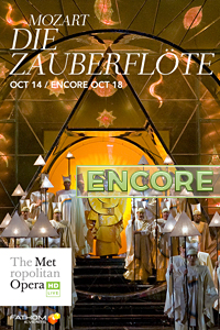 Poster of The Metropolitan Opera: Die Zauberflöte ENCORE