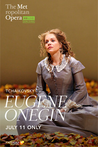 Poster of Met Opera Summer Encore: Eugene Onegin