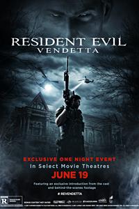 Poster of Resident Evil: Vendetta