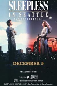 Poster of Sleepless in Seattle 25th Anniversary