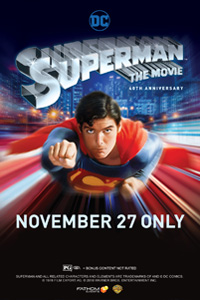 Poster of Superman 40th Anniversary