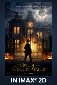 Poster of House With a Clock In Its Walls (w/ Michael Jackson Preview): The IMAX 2D Experience