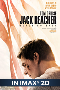 Poster of Jack Reacher: Never Go Back The IMAX 2D Experience