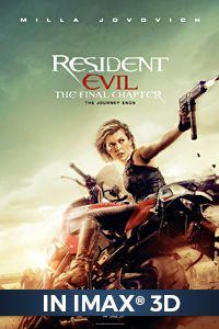 Poster of Resident Evil: The Final Chapter An IMAX 3D Experience