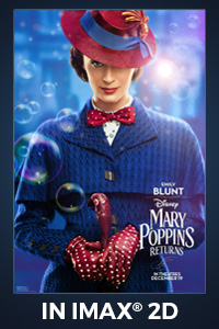 Poster of Mary Poppins Returns: The IMAX 2D Experience