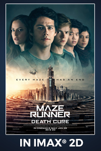Poster of Maze Runner: The Death Cure The IMAX ...