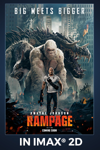 Poster of Rampage: The IMAX 2D Experience