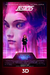 Poster of Ready Player One in 3D