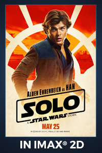 Poster of Solo: A Star Wars Story The IMAX 2D Experience