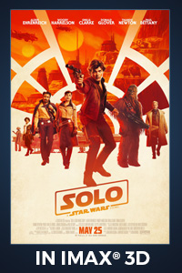 Poster of Solo: A Star Wars Story An IMAX 3D Experience