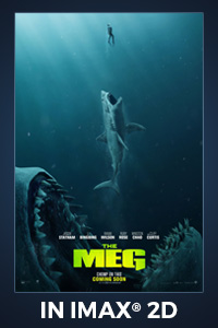 Poster of The Meg: The IMAX 2D Experience