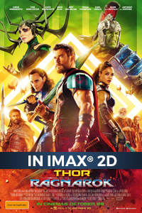 Poster of Thor: Ragnarok The IMAX 2D Experience...