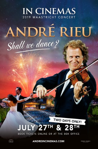 Poster of André Rieu 2019 Maastricht Concert - Shall We Danc