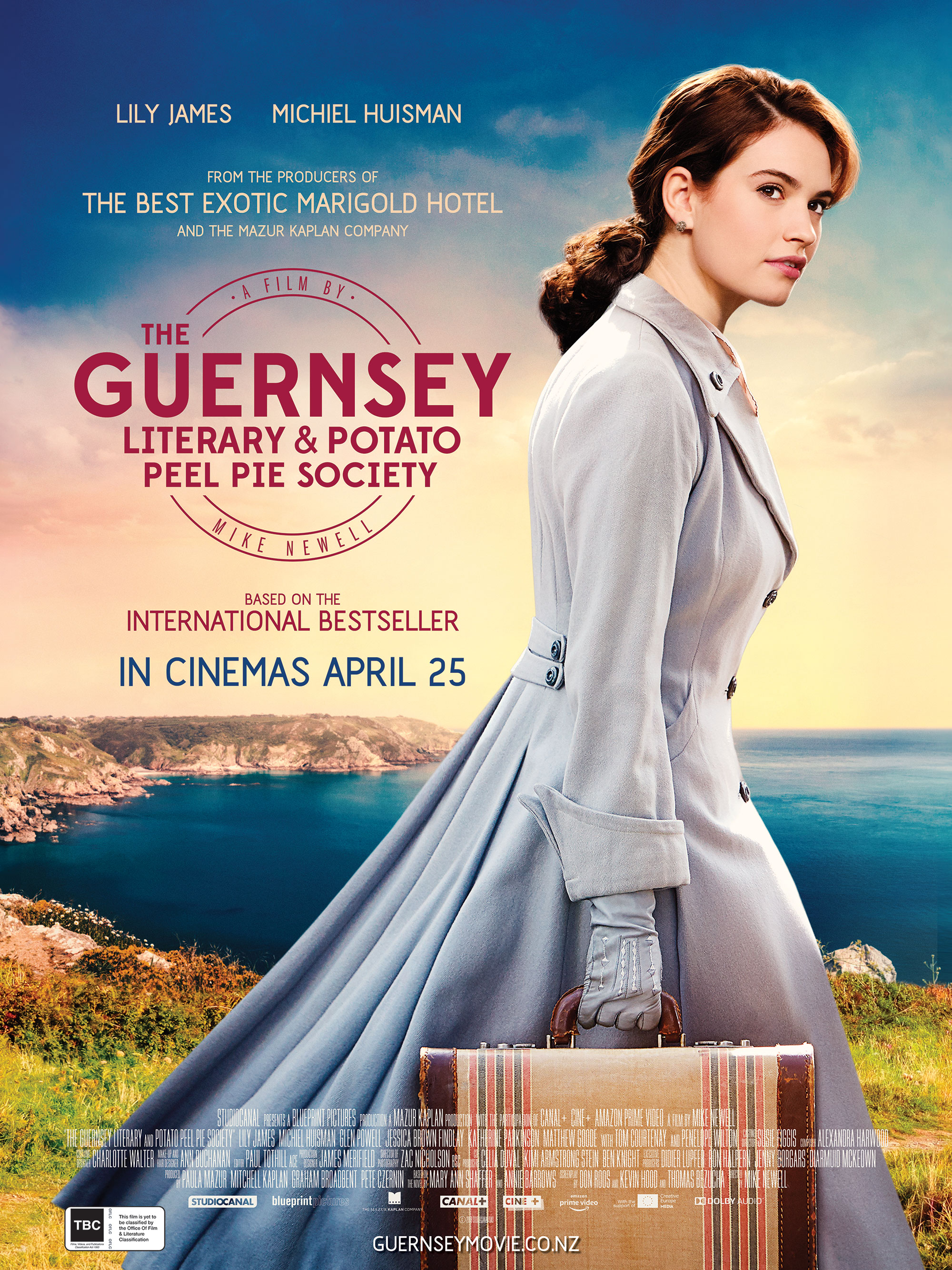 Poster of The Guernsey Literary and Potato Peel Pie Society